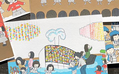 ペットの絵本